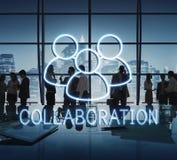 Colaboração Team Leadership Partnership Concept imagem de stock