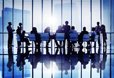 Colaboración Team Concept del negocio de la conferencia del seminario de la reunión Imagenes de archivo