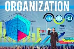 Colaboración Team Structure Concept de la gestión de la organización Fotografía de archivo