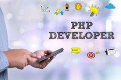 COLABORADOR DO PHP foto de stock royalty free