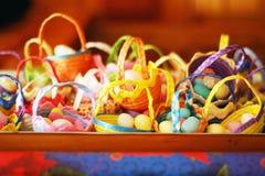 Colacion basket, a mexican christmas tradition.  Stock Photography