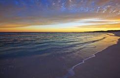 Colada 1 de la playa de la mañana Imágenes de archivo libres de regalías