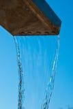 Colada del agua Fotos de archivo