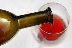 Colada del vino imágenes de archivo libres de regalías