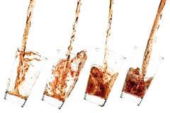 colaexponeringsglas Arkivbild
