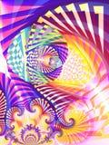 Colagem abstrata da arte de Digitas fotografia de stock royalty free