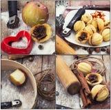 Colagem culinária Foto de Stock