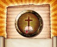 Colagem da Bíblia Foto de Stock Royalty Free