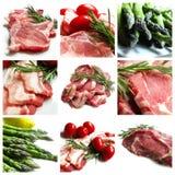Colagem da carne Foto de Stock Royalty Free