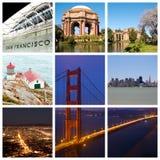 Colagem da cidade de San Francisco imagem de stock royalty free