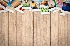 Colagem da foto do curso Imagem de Stock