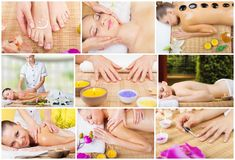 Salão de beleza dos termas Imagem de Stock