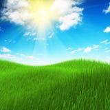 Colagem da paisagem Imagem de Stock Royalty Free