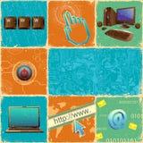 Colagem da tecnologia Fotografia de Stock Royalty Free