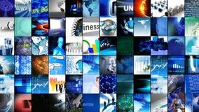 Colagem da tecnologia digital