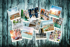 Colagem das fotos de Veneza Foto de Stock Royalty Free