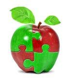 Colagem de Apple Imagens de Stock Royalty Free