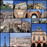 Colagem de Barcelona Fotos de Stock