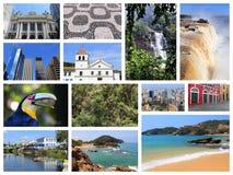 Colagem de Brasil Imagem de Stock