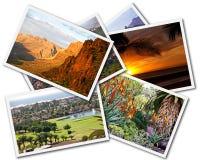 Colagem de Gran Canaria imagens de stock