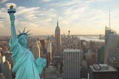 Colagem de New York City foto de stock royalty free