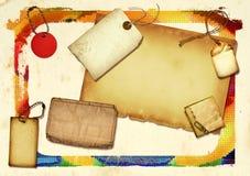 Colagem de papel Imagem de Stock