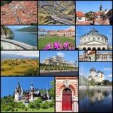 Colagem de Romênia Fotografia de Stock Royalty Free