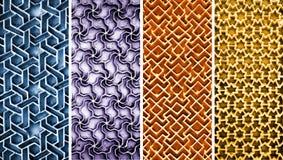 Colagem de testes padrões intrincados diferentes Imagem de Stock Royalty Free