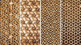 Colagem de testes padrões intrincados diferentes Fotos de Stock