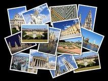 Colagem de Viena Fotos de Stock