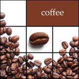 Colagem do café Imagem de Stock