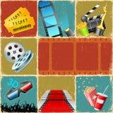 Colagem do filme Foto de Stock