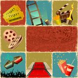Colagem do filme ilustração stock
