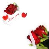 Colagem do Valentim imagens de stock royalty free