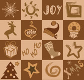 Colagem do vetor do feriado Fotos de Stock Royalty Free