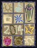 Colagem do vetor do feriado Foto de Stock Royalty Free
