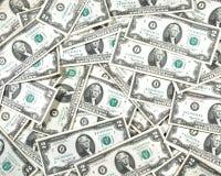 Colagem dolar dois Bill Fotografia de Stock