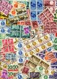 Colagem dos selos Imagem de Stock