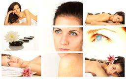 Colagem dos termas Fotografia de Stock