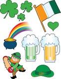 Colagem irlandesa Fotos de Stock Royalty Free