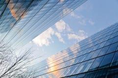 Colagem moderna dos edifícios Imagem de Stock