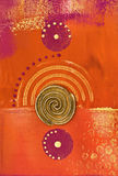 Colagem oriental Imagens de Stock