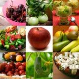 Colagem saudável Imagens de Stock