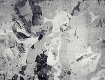 Colagem textured abstrata de Grunge Imagens de Stock