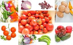 Colagem vegetal Imagem de Stock Royalty Free