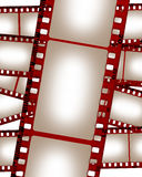 Colagem velha da película de Grunge Foto de Stock