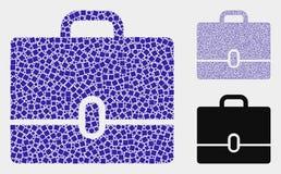 Colagens do ?cone do caso dos quadrados e dos c?rculos ilustração royalty free