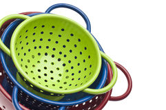 Colander Border Background Royalty Free Stock Photography