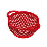 Colander  isometry. Pastafarianism cap. Cooking utensils Royalty Free Stock Image