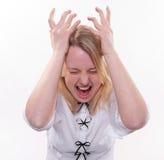Colapso emocional Foto de Stock